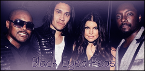 The Black Eyed Peas Signature by me969