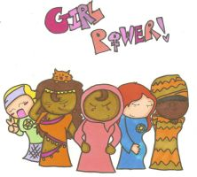 RPA 24-GIRL POWER by cartoonchick123