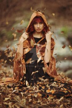 A Forged Autumn Portrait by MoofyModel