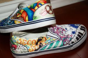 Shoe art 3 by musiklily