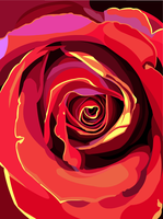 Red Rose by elviraNL