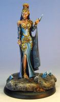 Anastasia painted by James Wappel by newboldworld