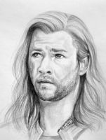 Thor by Paintsmudger