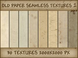 Old paper seamless textures 1 by jojo-ojoj