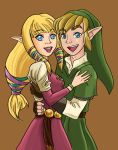 Zelda X Link Colored by xYaminogamex