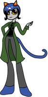 EQG - Nepeta - Homestuck by RicePoison