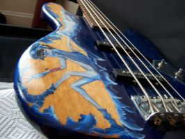 'M' Bass by blueorchid17