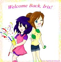 Collab: Welcome Back Iris by firehorse6