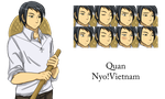 [Faceset Drawn] - Quan by Hebigami-Okami-77