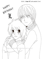 Happy Birthday L by subaru87