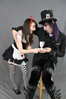 Dark alice and Mad hatter 14 by MajesticStock