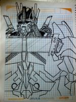 Optimus Prime Transformers Prime by SALVAGEPRIME8686