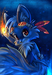 Flame by Ash-Dragon-wolf