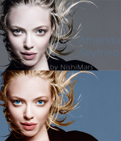 Amanda Seyfried coloring by SaidaGP