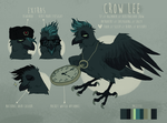 crow ref by crowvenchi