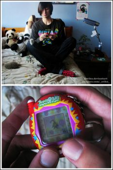 Virtual Pet Tamagotchi by ewiku