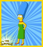 Marge Simpson by el-maky-z