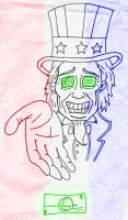 Uncle Sam by hotsnowman