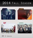 2014 Fall Season Folders by matvix