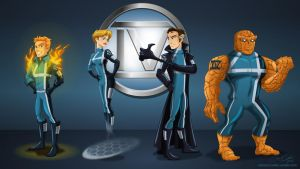 Fantastic 4 by racookie3