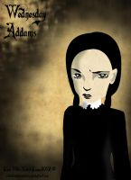 Day 4: Wednesday Addams by xXDeadWhiteRabbitXx