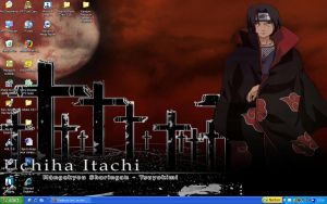 Itachi Desktop by Byakuya-Lee1
