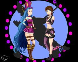 Jinx And Cait by Hichiyan