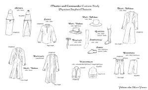 MandC Costumes Studies:Stephen by SilverYsnow