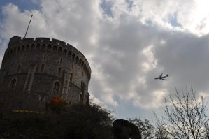 Palace and Plane by nibbs8