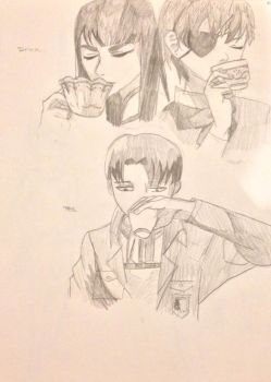 Drink Your Tea. by Origamimacaron