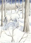 HP7 - The Silver Doe by Mayo-chan