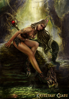 Queen of the Witches by canitiem