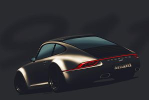 Porsche 911 facelift by 5-G