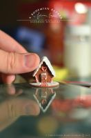 Gingerbread House // 1:12 Scale Miniature by abohemianbazaar
