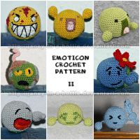 Emoticon Crochet Pattern 2 by janey-in-a-bottle