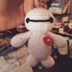 Baymax Keychain - for sale on Etsy by theyarnbunny