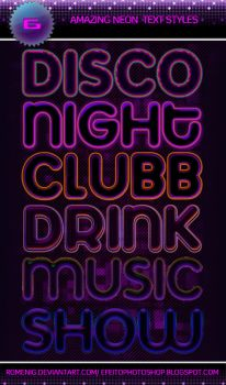 6 Awesome Neon Styles by Romenig
