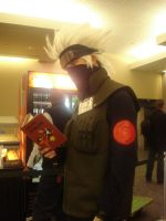SC : Kakashi and his Book by xMeepxChanx