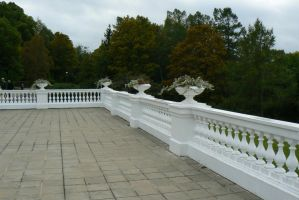 Stock - Castle Balcony by triinustock