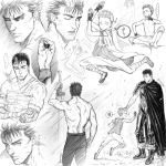 Berserk sketches by Denoro
