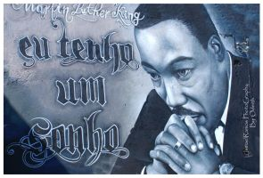 M. Luther King by RamosIsmael