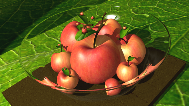 3D Modelling - Apple-ception by Cheejyg