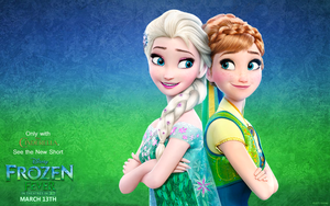 [PICTURE] Frozen Fever Wallpaper by SnowyTime