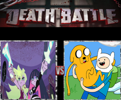 Panty and Stocking vs Finn and Jake by KeybladeMagicDan
