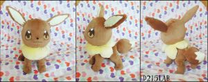 eevee plush by d215lab