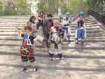 Sora and friends Kingdom Hearts by AsakuraYumiChan