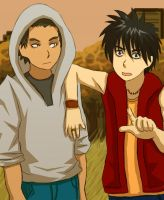 Kekkaishi: Autumn Boys by jam2599