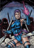 MM2 Psylocke Artist Proof by tonyperna