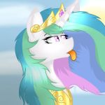 Celestia, the Princess of the Sun by Melobee