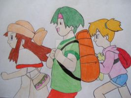 Melody, Tracey, and Misty by AJLeefan4life